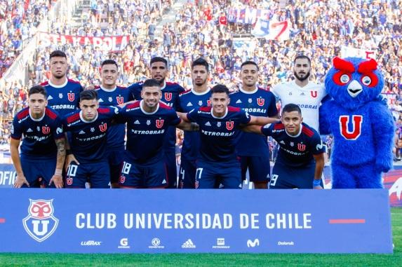 Universidad de Chile vs Union La Calera, campeonato nacional 2019