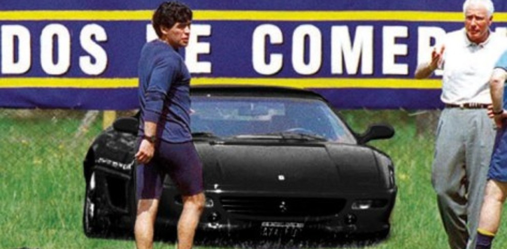 Diego Maradona Ferrari