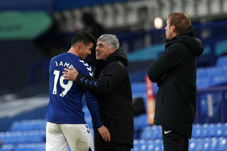 Gol James Everton Hoy